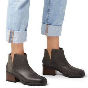 Sorel Cate Cut-out Bootie Gray